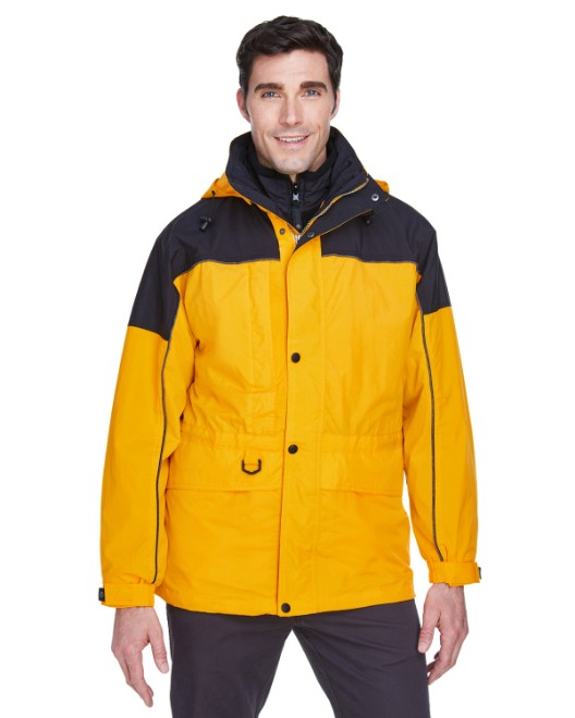 Picture of Ash City - North End 88006 Adult 3-in-1 Two-Tone Parka