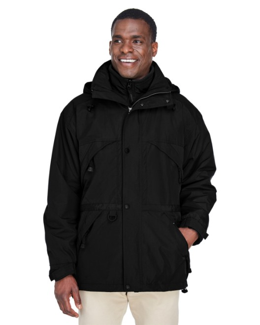 Picture of Ash City - North End 88007 Adult 3-in-1 Parka with Dobby Trim