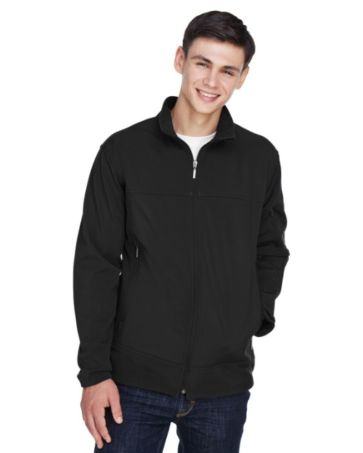 Picture of Ash City - North End 88099 Men's Three-Layer Fleece Bonded Performance Soft Shell Jacket