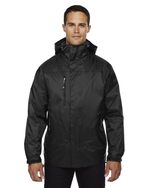Picture of Ash City - North End 88120 Adult Performance 3-in-1 Seam-Sealed Hooded Jacket