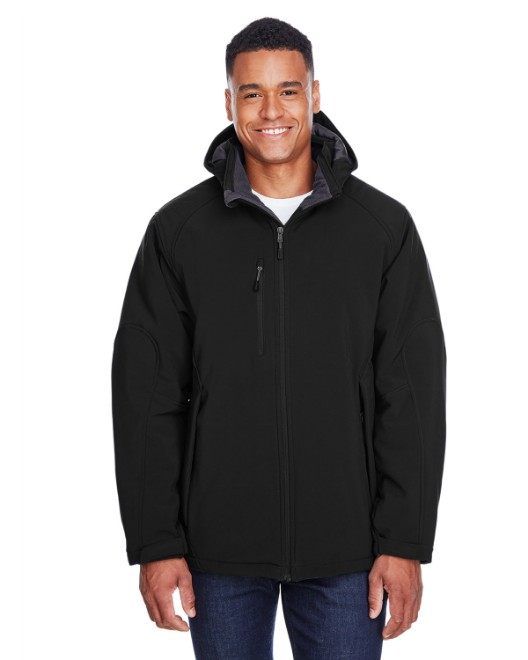 Picture of Ash City - North End 88159 Men's Glacier Insulated Three-Layer Fleece Bonded Soft Shell Jacket with Detachable Hood