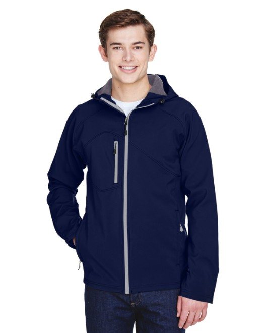 Picture of Ash City - North End 88166 Men's Prospect Two-Layer Fleece Bonded Soft Shell Hooded Jacket
