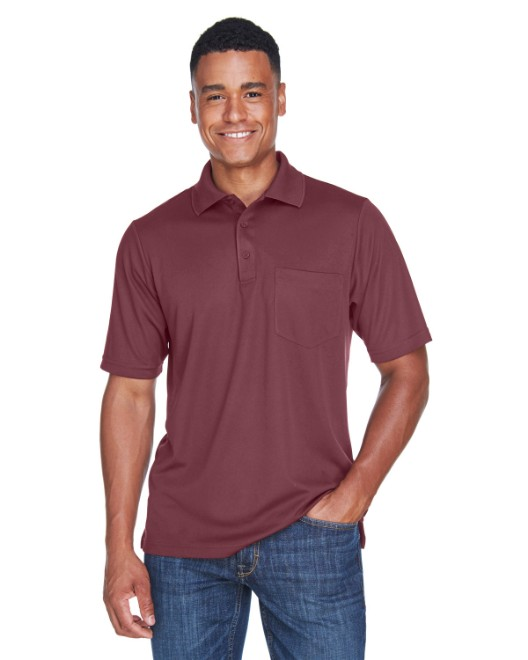 Picture of Ash City - Core 365 88181P Men's Origin Performance Pique Polo with Pocket