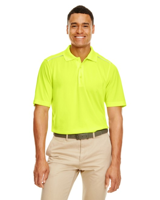 Picture of Ash City - Core 365 88181R Men's Radiant Performance Pique Polo with Reflective Piping