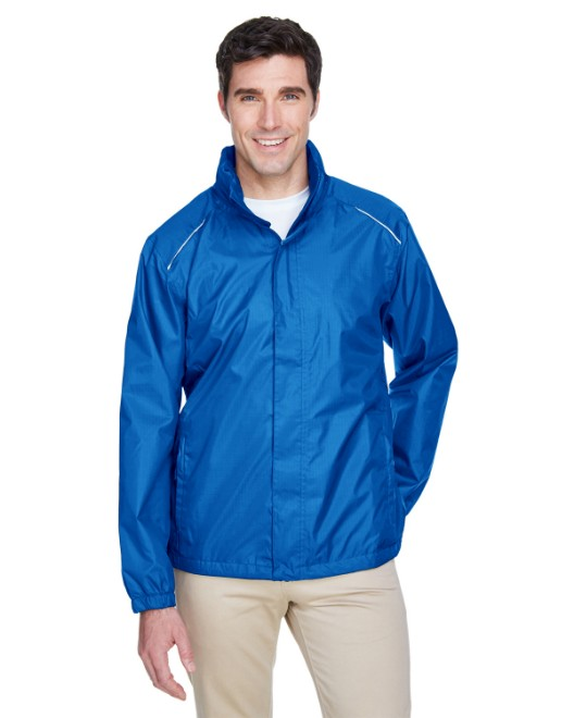 Picture of Ash City - Core 365 88185 Men's Climate Seam-Sealed Lightweight Variegated Ripstop Jacket