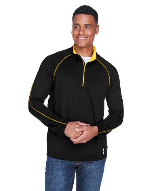 Picture of Ash City - North End 88187 Men's Radar Quarter-Zip Performance Long-Sleeve Top