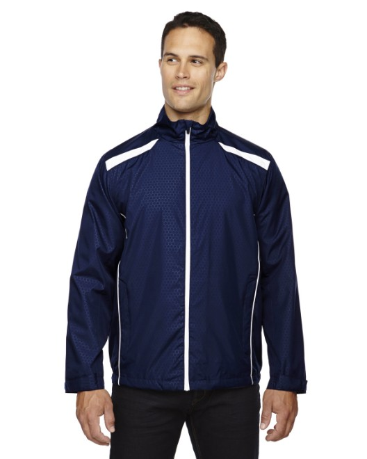 Picture of Ash City - North End 88188 Men's Tempo Lightweight Recycled Polyester Jacket with Embossed Print