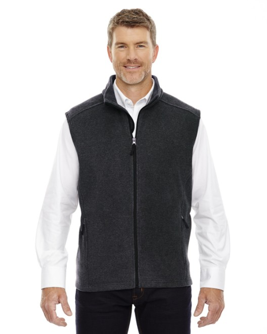 Picture of Ash City - Core 365 88191T Men's Tall Journey Fleece Vest