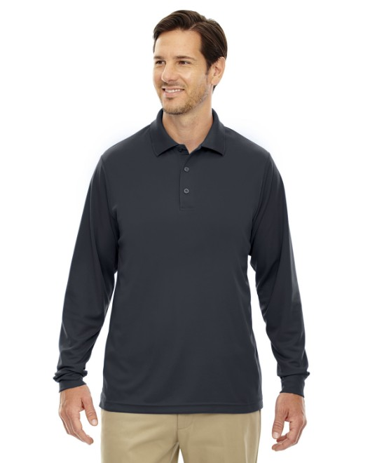 Picture of Ash City - Core 365 88192T Men's Tall Pinnacle Performance Long-Sleeve Pique Polo