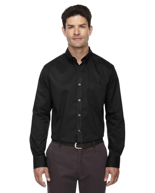 Picture of Ash City - Core 365 88193T Men's Tall Operate Long-Sleeve Twill Shirt