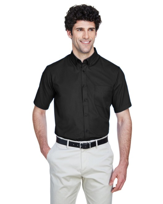 Picture of Ash City - Core 365 88194 Men's Optimum Short-Sleeve Twill Shirt