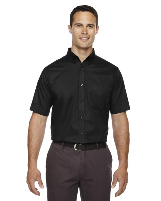 Picture of Ash City - Core 365 88194T Men's Tall Optimum Short-Sleeve Twill Shirt