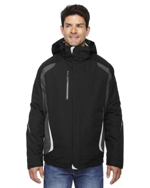 Picture of Ash City - North End 88195 Men's Height 3-in-1 Jacket with Insulated Liner
