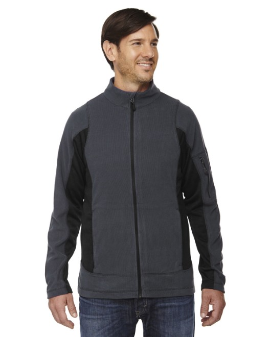 Picture of Ash City - North End 88198 Men's Generate Textured Fleece Jacket
