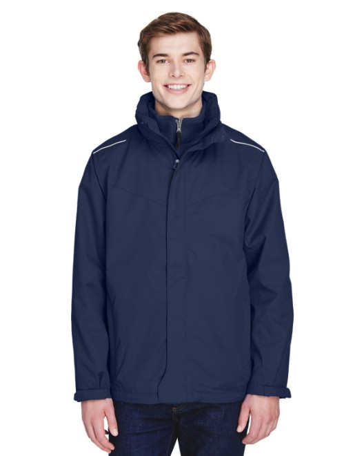 Picture of Ash City - Core 365 88205 Men's Region 3-in-1 Jacket with Fleece Liner