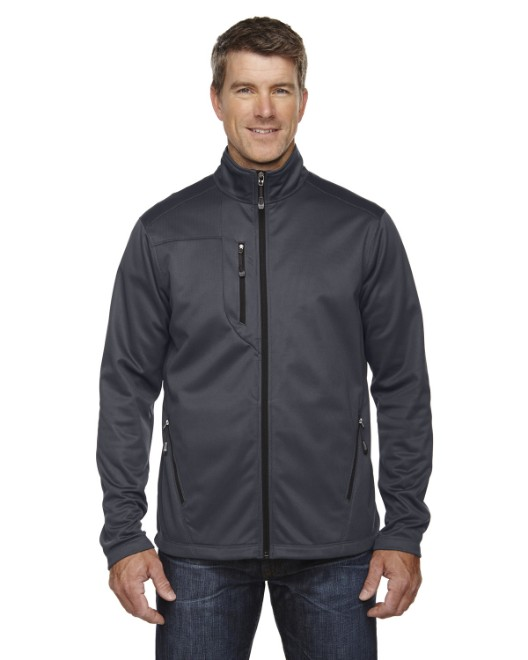 Picture of Ash City - North End 88213 Men's Trace Printed Fleece Jacket