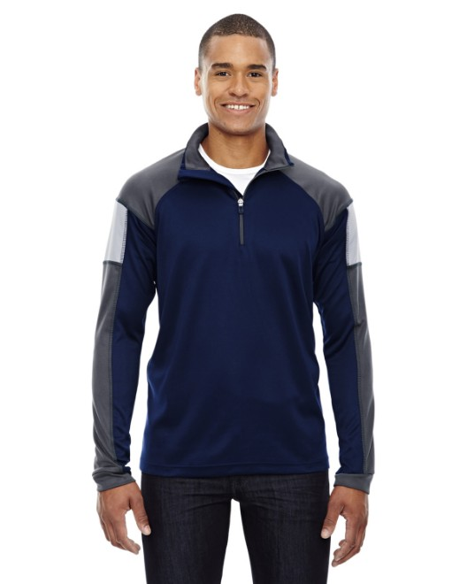 Picture of Ash City - North End 88214 Men's Quick Performance Interlock Quarter-Zip