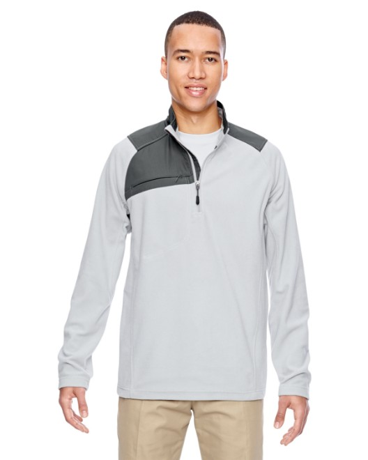Picture of Ash City - North End 88217 Adult Excursion Trail Fabric-Block Fleece Quarter-Zip