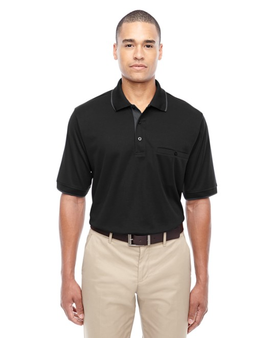 Picture of Ash City - Core 365 88222 Men's Motive Performance Pique Polo with Tipped Collar