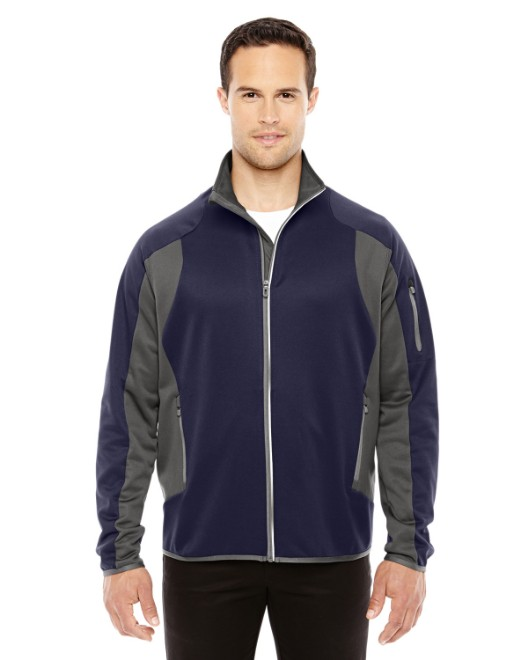 Picture of Ash City - North End 88230 Men's Motion Interactive Colorblock Performance Fleece Jacket