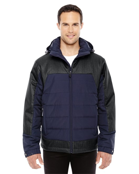 Picture of Ash City - North End 88232 Men's Excursion Meridian Insulated Jacket with Melange Print