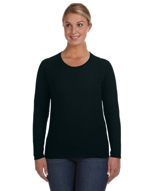 Picture of Anvil 884L Ladies' Lightweight Long-Sleeve T-Shirt