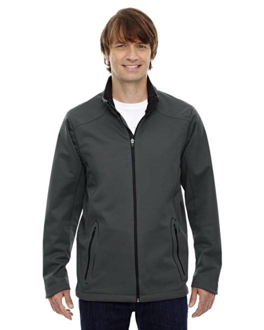 Picture of Ash City - North End 88655 Men's Splice Three-Layer Light Bonded Soft Shell Jacket with Laser Welding