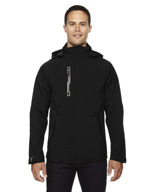 Picture of Ash City - North End 88665 Men's Axis Soft Shell Jacket with Print Graphic Accents