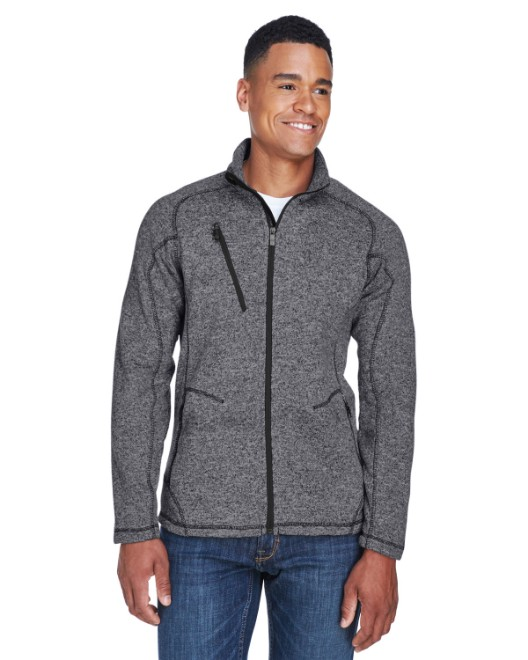 Picture of Ash City - North End 88669 Men's Peak Sweater Fleece Jacket