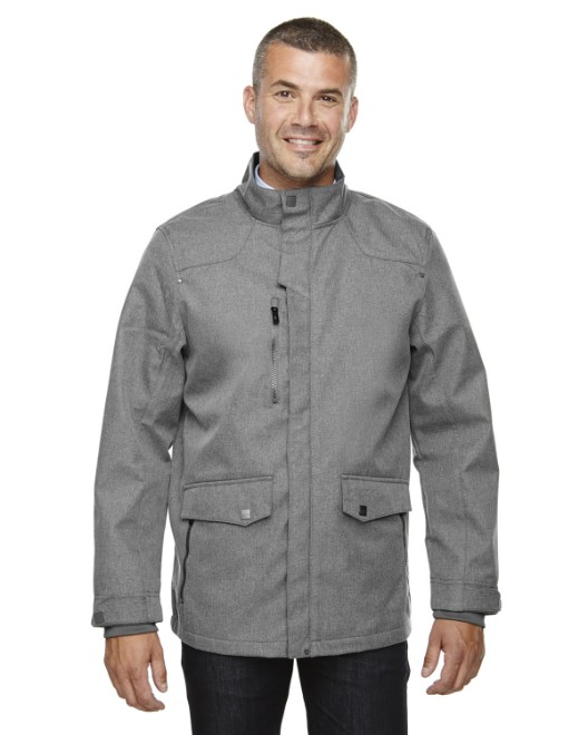 Picture of Ash City - North End 88672 Men's Uptown Three-Layer Light Bonded City Textured Soft Shell Jacket