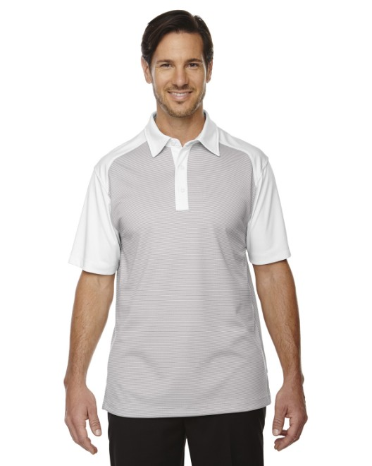 Picture of Ash City - North End 88676 Men's Symmetry UTK cool?logik Coffee Performance Polo
