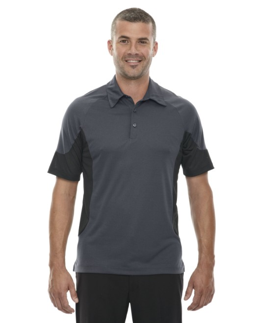Picture of Ash City - North End 88677 Men's Refresh UTK cool?logik Coffee Performance Melange Jersey Polo