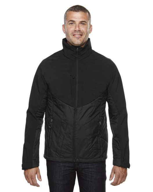 Picture of Ash City - North End 88679 Men's Innovate Insulated Hybrid Soft Shell Jacket