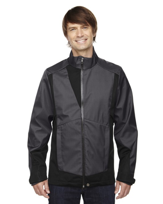 Picture of Ash City - North End 88686 Men's Commute Three-Layer Light Bonded Two-Tone Soft Shell Jacket with Heat Reflect Technology