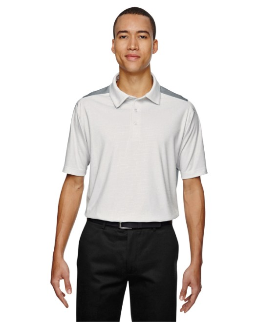 Picture of Ash City - North End 88691 Men's Reflex UTK Cool Logik Performance Embossed Print Polo