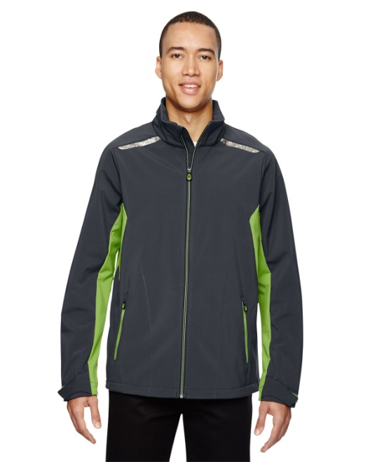 Picture of Ash City - North End 88693 Men's Excursion Soft Shell Jacket with Laser Stitch Accents