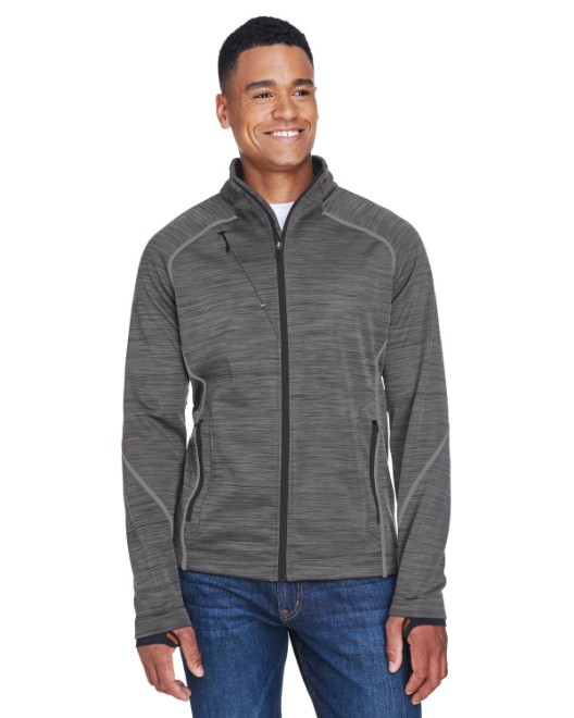 Picture of Ash City - North End 88697 Men's Flux Melange Bonded Fleece Jacket