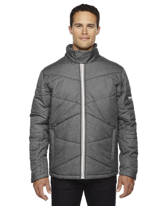 Picture of Ash City - North End 88698 Men's Avant Tech Melange Insulated Jacket with Heat Reflect Technology