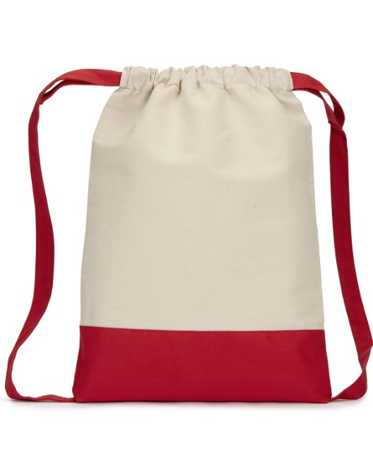 Picture of Liberty Bags 8876 Cape Cod Cotton Drawstring Backpack