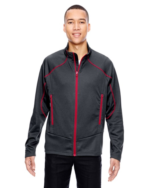 Picture of Ash City - North End 88806 Men's Cadence Interactive Two-Tone Brush Back Jacket