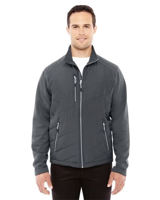 Picture of Ash City - North End 88809 Men's Quantum Interactive Hybrid Insulated Jacket