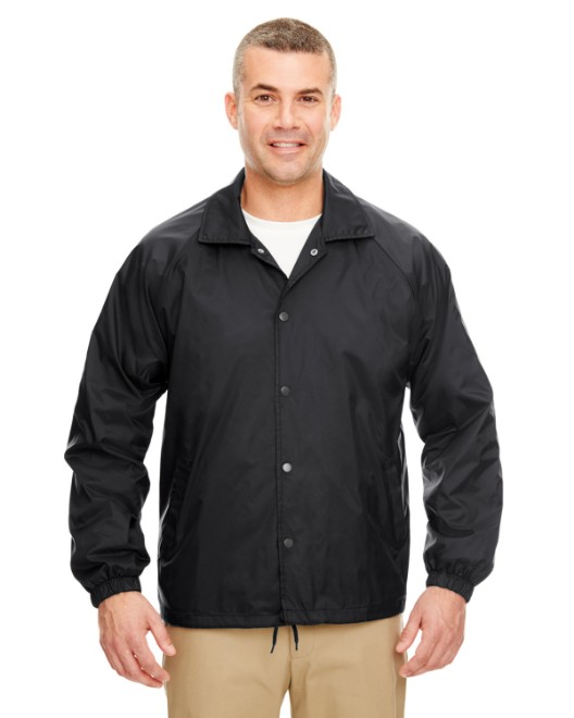 Picture of UltraClub 8944 Adult Nylon Coaches' Jacket