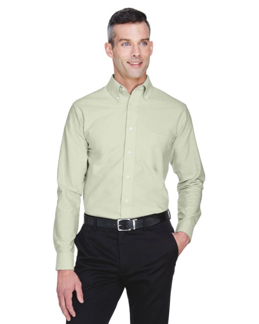 Picture of UltraClub 8970 Men's Classic Wrinkle-Resistant Long-Sleeve Oxford