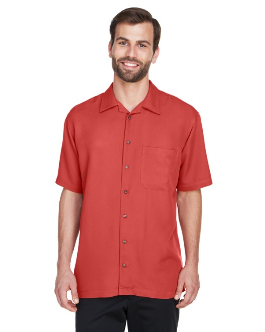 Picture of UltraClub 8980 Men's Cabana Breeze Camp Shirt