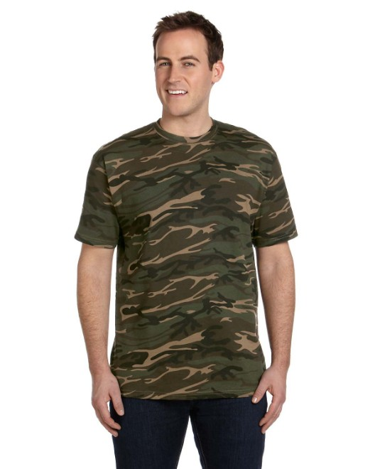 Picture of Anvil 939 Midweight Camouflage T-Shirt