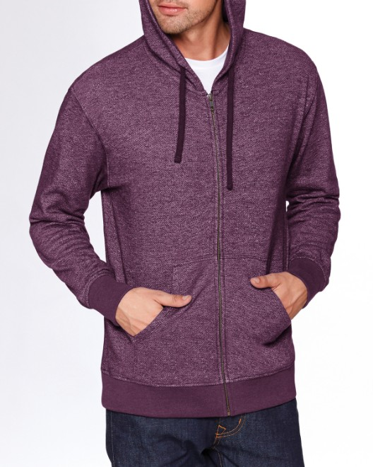 Picture of Next Level 9600 Adult Denim Fleece Full-Zip Hoody