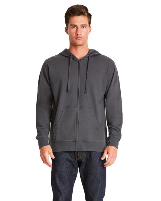 Picture of Next Level 9601 Adult French Terry Zip Hoody