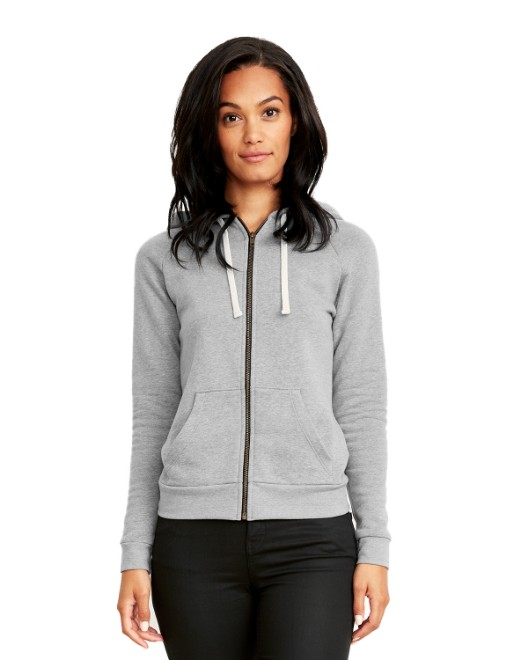 Picture of Next Level 9603 Womens PCH Raglan Zip Hoody