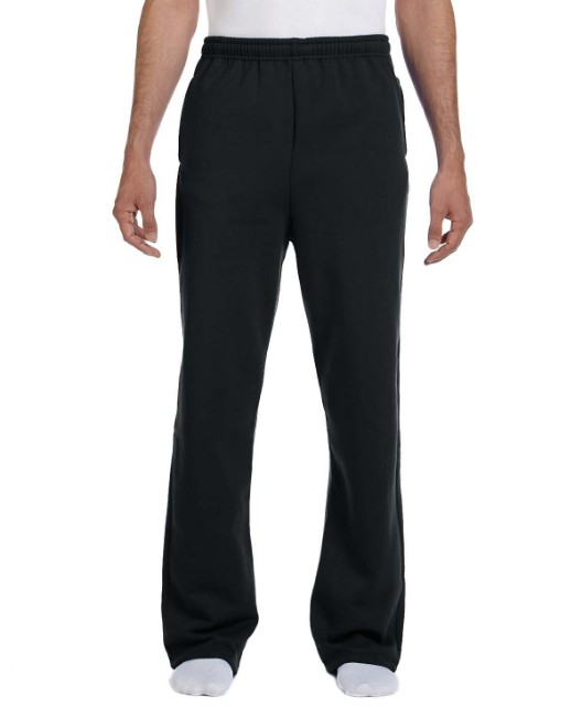 Picture of Jerzees 974MP Adult 8 oz. NuBlend Open-Bottom Fleece Sweatpants