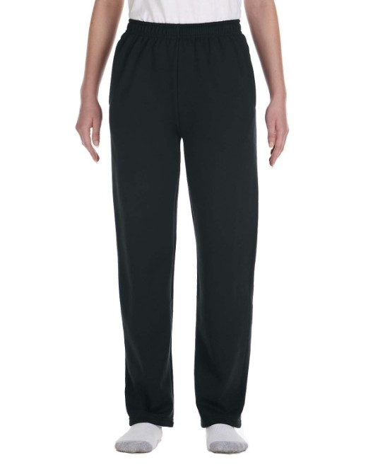 Picture of Jerzees 974Y Youth 8 oz. NuBlend Open-Bottom Fleece Sweatpants